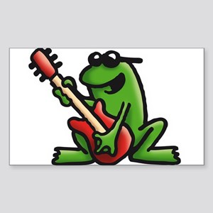 frog and roll Sticker (Rectangle)