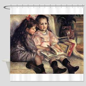 Renoir Portrait Of Two Children Shower Curtain
