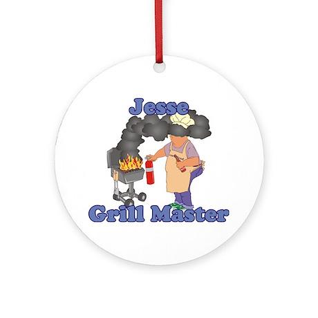 Grill Master Jesse Ornament (Round)