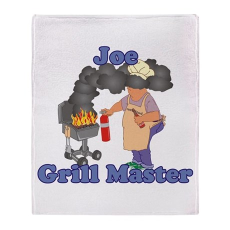 Grill Master Joe Throw Blanket