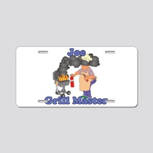 Grill Master Joe Aluminum License Plate