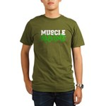 Muscle Machine Organic Men's T-Shirt (dark)