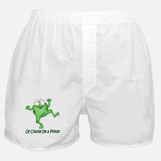 Frog Prince Boxer Shorts