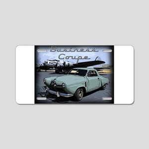 Business Coupe Aluminum License Plate