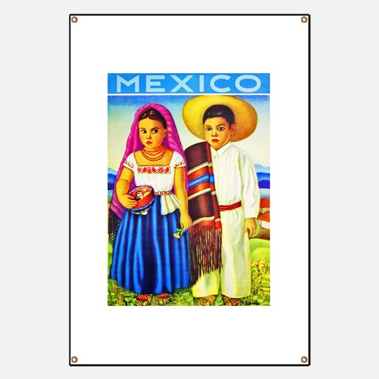 Mexico Travel Poster 12 Banner