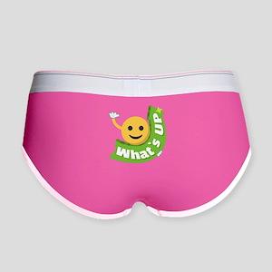 Emoji Smiley What's Up Women's Boy Brief