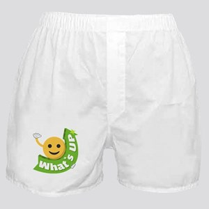 Emoji Smiley What's Up Boxer Shorts