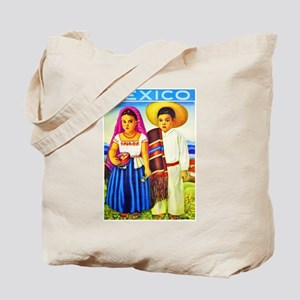 Mexico Travel Poster 12 Tote Bag