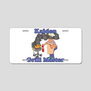 Grill Master Kaiden Aluminum License Plate