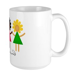 Contemporary Sisterhood Large Mug