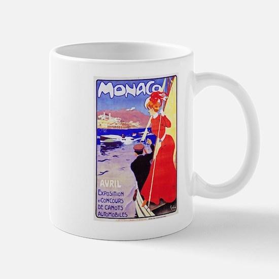 Monaco Travel Poster 1 Mug