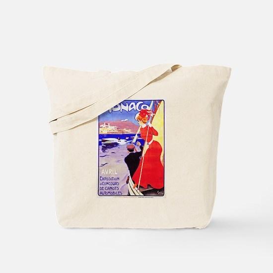 Monaco Travel Poster 1 Tote Bag