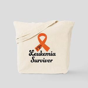 5 Year Leukemia Survivor Tote Bag