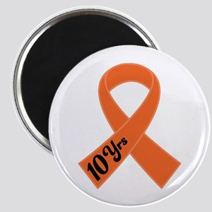 10 Year Leukemia Survivor Magnet