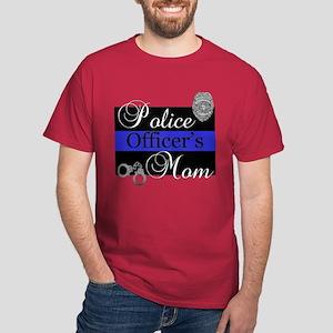 Police Mom Dark T-Shirt