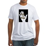 take-5-hand-logo Fitted T-Shirt
