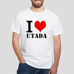 I Love Utada White T-Shirt