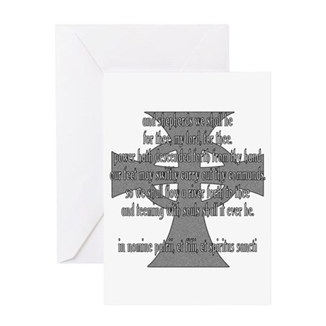 Brothers Creed Greeting Card