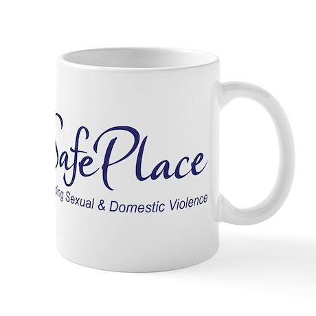 SafePlace Logo w/tagline Mugs
