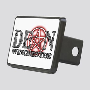Star-Dean-BLK Rectangular Hitch Cover