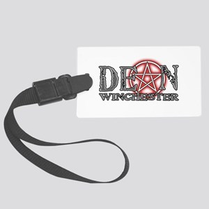 Star-Dean-BLK Large Luggage Tag