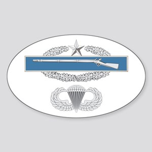 CIB 2nd Airborne Sticker (Oval)