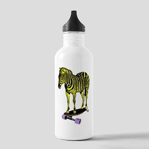 zebra skate Stainless Water Bottle 1.0L