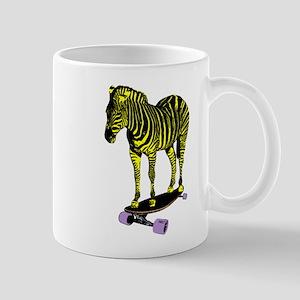 zebra skate Mug