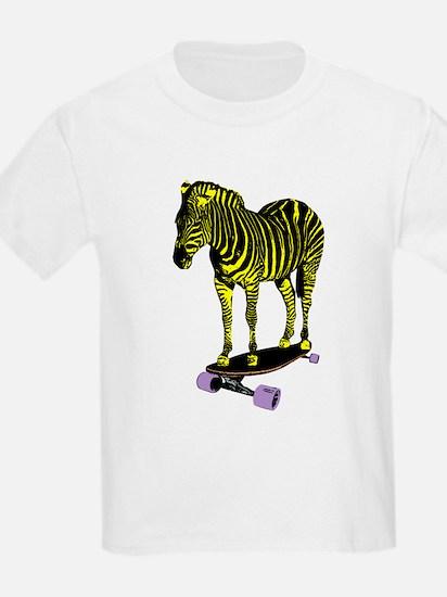 zebra skate T-Shirt