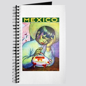 Mexico Travel Poster 13 Journal