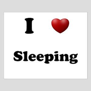Sleeping Small Poster