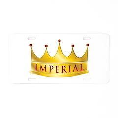 Imperial Aluminum License Plate
