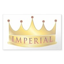 Imperial Sticker (rectangle)