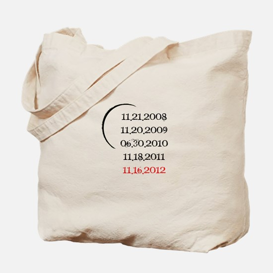 Breaking Dawn Part 2 Release Date Tote Bag