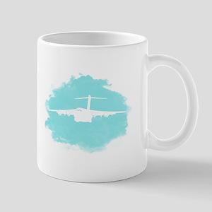 C-17 aircraft silhouette Mug