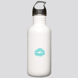 C-17 aircraft silhouette Stainless Water Bottle 1.