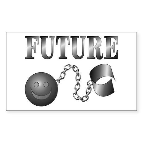 FUTURE Ball and Chain Rectangle Sticker