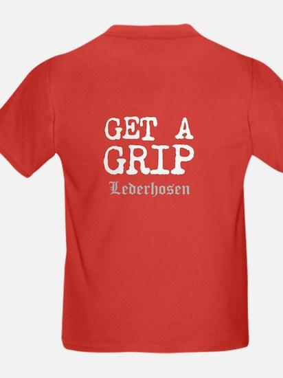 Kids GET A GRIP Dark T-Shirt