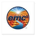 EMC2 Square Car Magnet 3x3