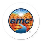EMC2 Round Car Magnet