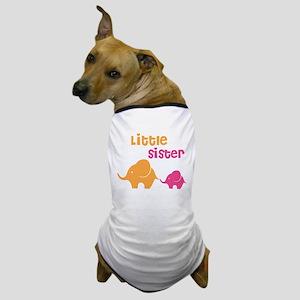 Little sister elephant Dog T-Shirt
