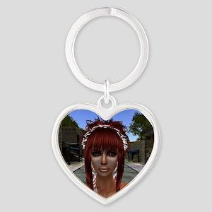 Aphrodite Heart Keychain