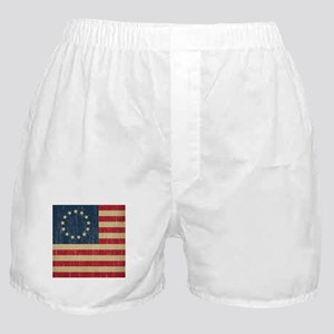 Vintage Betsy Ross Flag Boxer Shorts