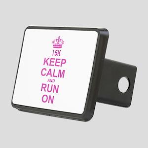 run pink 13.1 Rectangular Hitch Cover