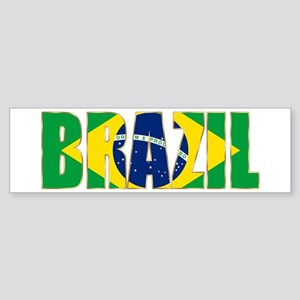 Brazil Sticker (Bumper)