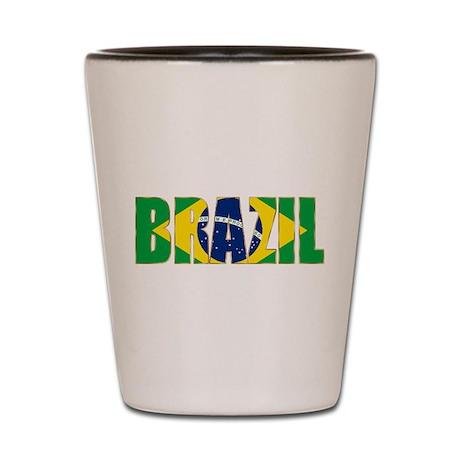 Brazil Shot Glass