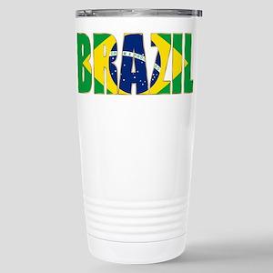 Brazil Stainless Steel Travel Mug