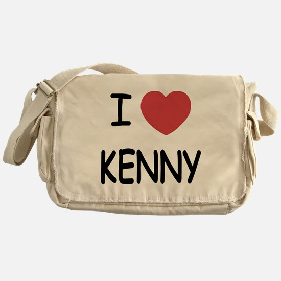 I heart KENNY Messenger Bag