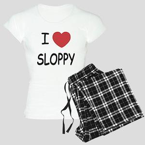 I heart SLOPPY Women's Light Pajamas
