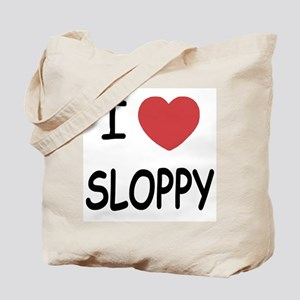 I heart SLOPPY Tote Bag